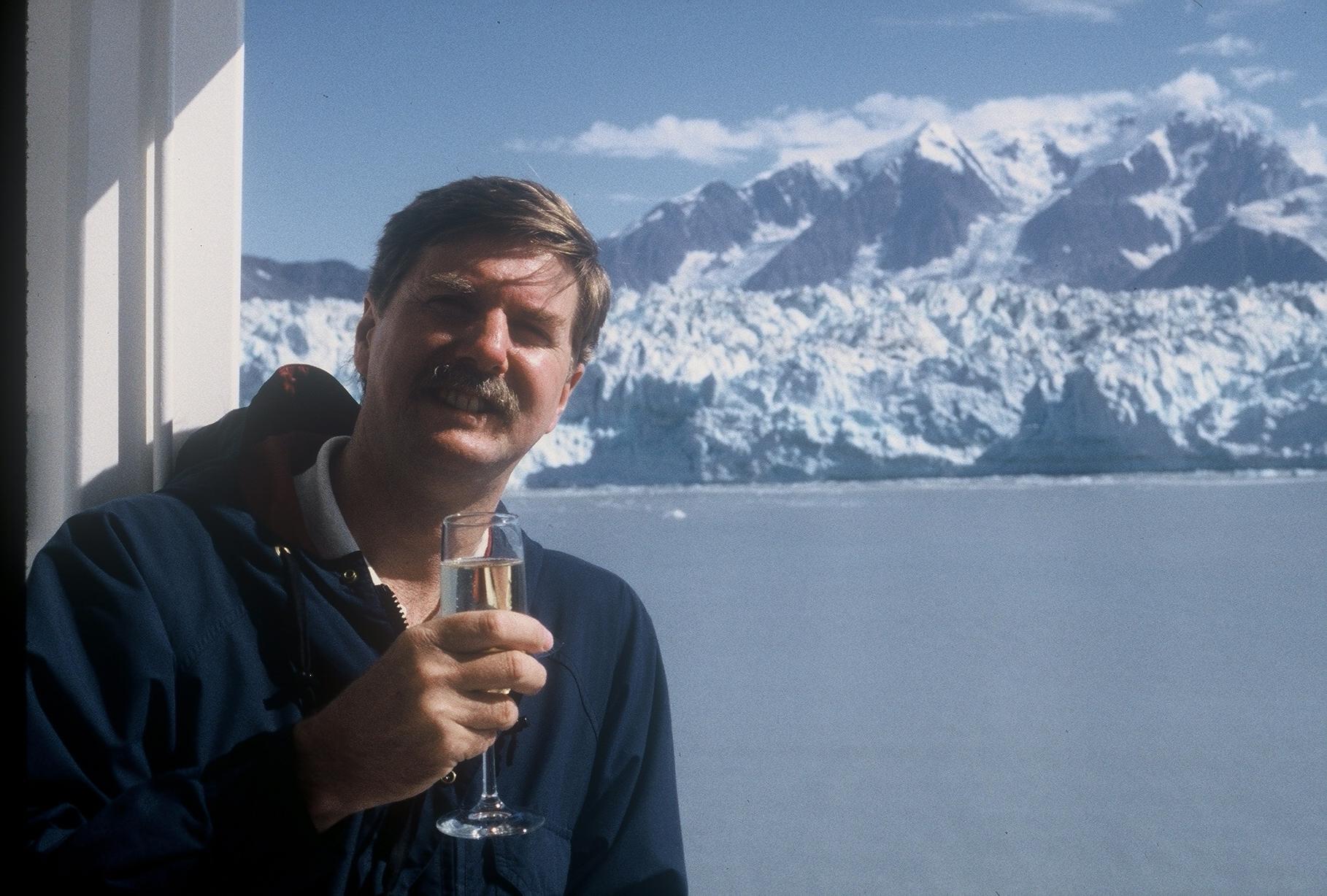 Peter on Alaska Cruise 1997