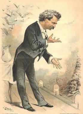 Twain Speaking